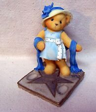 """Enesco Cherished Teddies Bette 1998 """"You Are The Star Of The Show"""" #533637"""