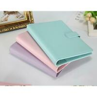 Stationery Leather Planner Schedule Loose Leaf Business Diary Notebook Q