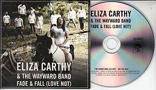 ELIZA CARTHY & THE WAYWARD BAND Fade & Fall (Love Not) 2017 UK 2-track promo CD