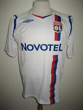 Olympique Lyonnais Lyon home France football shirt soccer jersey maillot size L