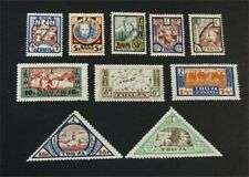nystamps Russia Tannu Tuva Stamp # 15-24 Mint OG H $40