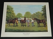 Richard Stone Reeves - The Profiles Of Courage - A/P - Race Horse Print