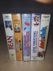 5 schöne VHS-Videos, keine DVDs