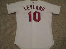 2003-2005 St. Louis Cardinals Jim Leyland Game Used Jersey Spring Training autod