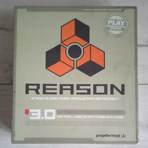 Propellerhead Reason 3.0 CD for Professional Music Production Software