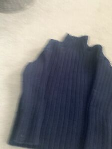 Cos Kids Age 3-4 Years Chunky Knit Blue Boys Jumper