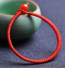 Perfect Chinese Red String Bracelet/ Free Size Men&Women Bracelet/ 7inches