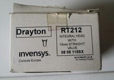 Drayton RT212 INTEGRALE HEAD 15mm Valvola Diritta