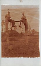 B82801 Poland kowel 1917  real photo foto WW1 front/back scan