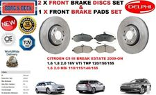 PER CITROEN C5 III Familiare Break 2009- set DISCHI FRENI ANTERIORI+
