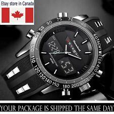 Men's Watch Luxury Military LED Digital Analogue Digital date day Illuminating