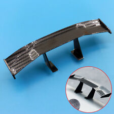 17cm Car Black Carbon Fiber Twill Look GT Tiny Mini Rear Wing Spoiler Decoration
