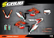 KTM graphics FREERIDE decals kit SCRUB 250 350 & ELECTRIC 2012 - 2018 '12 - '18