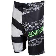 "JETPILOT Brand New /""CLEAN CUT/"" BOARDSHORTS Black//Green Size 38"