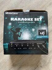 Silvercrest Karaoke Set Boxed Missing CD
