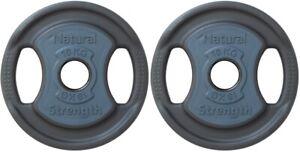 10kg  Premium Urethane Coated Cast Iron Olympic & Standard Lifting Weight Plates