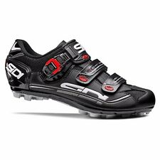 SIDI Eagle 7 Fit MTB Cycling Shoes Bike Shoes Black/Black Size 36-46 EUR