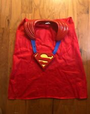 MATTEL SUPERMAN FIGHT N FLY CAPE SOUND LIGHT COSTUME SUPER HERO Ages 3-5