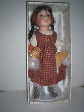 "Duck House ""Scarlett"" Doll, Porcelain, 19"", New In box"