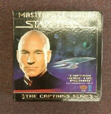 STAR TREK THE NEXT GENERATION CAPTAIN PICARD MASTERPIECE EDITION FIGURE AND BOOK