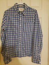 Abercrombie & Fitch Button Up Shirt Men's Size M Muscle Fit Long Sleeve Plaid