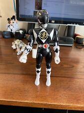 1993 bandai power rangers 8in Black Ranger