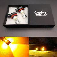 2x H8 H11 H16 3000K Yellow 100W High Power CREE LED Fog Light Driving Bulb #4