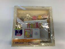 "Llama Shadow Box Craft Kit - 8"" x 8"" Wood Box for Diy Crafts - For Ages 6+"