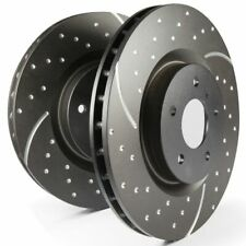 EBC Rear Turbo Groove / GD Sport Rotors Brake Discs (Pair) - GD1243
