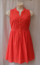 Capture Size 16 Dress Broderie Anglaise Cotton Summer Work Casual Holiday