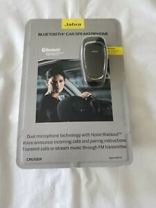 Jabra Cruiser Bluetooth Car Kit Speakerphone 450775 NEW sealed w/ AC Adapter