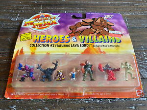 NEW Sealed 1994 Bluebird Mighty Max Heroes & Villains Collection #2 Lava Lord!