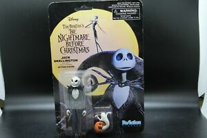 Nightmare Before Christmas Jack Skellington Wicked ReAction Funko Figure