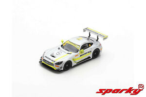 Mercedes Benz AMG GT3,Winner FIA GT World Cup Macau 2017,Scale 1:64 by Sparky