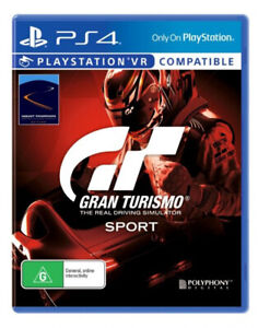 Sealed Brand New Gran Turismo Sport (PS4, Playstation 4)