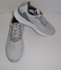 Womens 9.5 Adidas Alphabounce RC Sneakers Running Shoes Light Grey B42865 New
