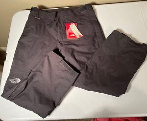 The North Face Hyvent Ski/Snowboard Mens Pants Size Medium Short Suspenders New