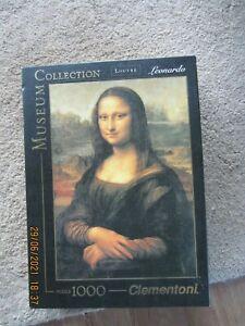 "Clementoni ""Museum Collection"" Leonardo - Mona Lisa Art Jigsaw Puzzle 1000 31413"