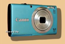 CANON A2400 IS BLUE MECHANICALLY RECONDITIONED-STABILIZATION HELPS HAND SHAKE