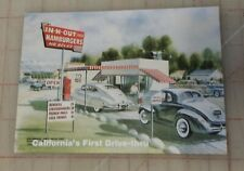Rare Vintage IN-N-OUT BURGER Free Drink Coupon Certificate W/ Rich Snyder Sign