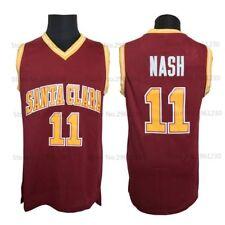 Camiseta retro Steve Nash - Santa Clara NCAA College Basketball
