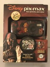 Pirates Of The Caribbean Jack Sparrow Disney PIx Max 3.0 MP Digital Camera NIP