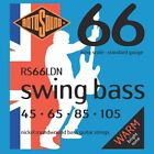ROTOSOUND RS66LDN SWING BASS NICKEL BASS STRINGS, STANDARD GAUGE 4's - 45-105 for sale