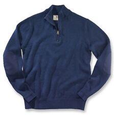 Beretta Half-Zip Sweater PUA5 Blue Size XXXL Make Offer
