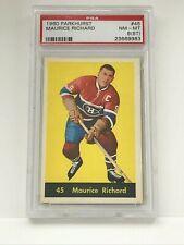Maurice Richard - 1960 PARKHURST #45 - Grade 8(ST)