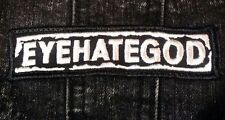 Eyehategod Embroidered Patch Iron/Sew on Free Shipping Fast Delivery