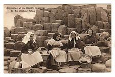 Giant's Causeway - Wishing Chair Photo Postcard c1910 Portrush