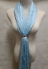 """Tennessee Titans  """"RING BLING"""" Scarf - NFL  licensed crystal logo ring/scarf"""