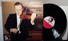 YEHUDI MENUHIN Beethoven Violinkonzert D-dur FURTWANGLER vinyl LP Germany