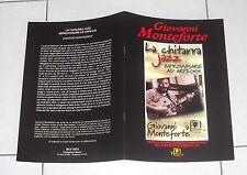 GIOVANNI MONTEFORTE La chitarra Jazz Improvvisare ad arpeggi Metodo Manuale 1999